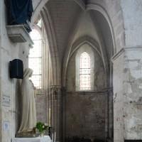 Vue partielle du bras sud du transept vers le sud (2018)