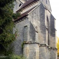 Le bras sud du transept vu du sud-ouest (2018)