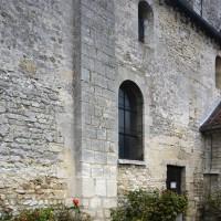 Vue partielle de la nef depuis le sud-ouest (2015)