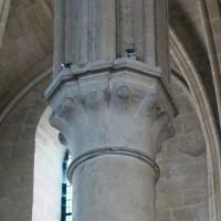 Chapiteau de la pile intermédiaire du bras sud du transept (2019)