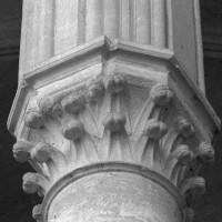 Chapiteau de la pile intermédiaire du bras nord du transept (1997)