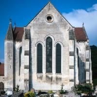 Le chevet de l'église