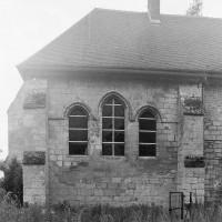 Le chevet de la chapelle vu de l'est (1997)