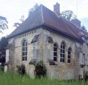 Le choeur de la chapelle vu du sud-est (2000)