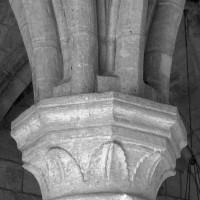 Retombée des voûtes sur la pile médiane nord (1997)