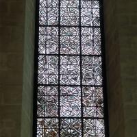 La grisaille à la fenêtre du mur nord du choeur (2019)