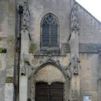 La partie centrale de la façade ouest (2016)