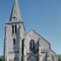 L'église vue de l'ouest (1997)