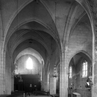 L'intérieur vu vers le nord-ouest depuis le choeur (1997)