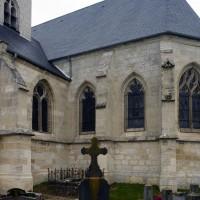 Le bras sud du transept et le choeur vus du sud-est (2017)