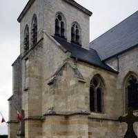 Vue partielle de l'église depuis le sud-est (2017)