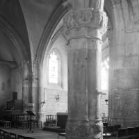Vue partielle des parties orientales de l'église vers le nord-est (1996)
