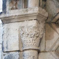 Chapiteau du piédroit de gauche du portail ouest (2016)