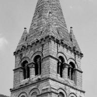 Le clocher vu du sud-ouest (1982)