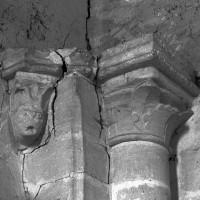 La retombée de l'ancien arc triomphal au nord (1997)