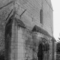La façade ouest vue du nord-ouest (1995)