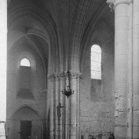 Vue partielle du transept vers le nord-est (1995)