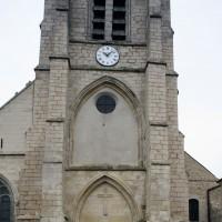 Le clocher porche vu de l'ouest (2018)