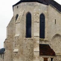 L'abside vue du nord-est (2018)