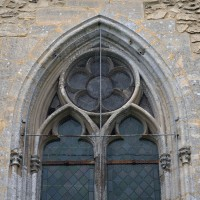 Parties hautes d'une fenêtre de l'abside (2017)