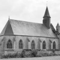 La chapelle vue du nord-est (1977)