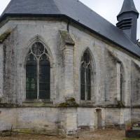 La chapelle vue du nord-est (2017)