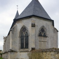 L'abside vue du sud-est (2017)