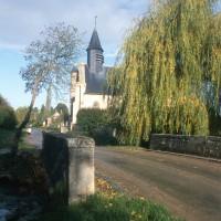 La chapelle dans son environnement vue du sud (1997)