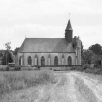 La chapelle dans son environnement vue du nord (1977)