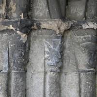 Les chapiteaux de gauche du portail ouest (1996)
