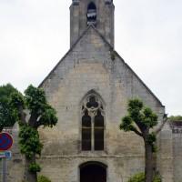 La façade ouest de l'église (2017)