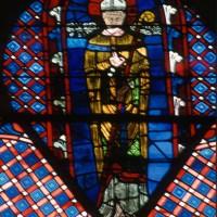 Vitrail de saint Leufroy (1996)