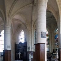 Le choeur et l'abside vus vers le nord-est (1995)