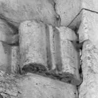 Elément d'ogive en remploi dans la nef (1996)
