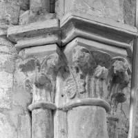 Chapiteaux d'un arc doubleau de la chapelle nord (1997)
