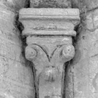 Chapiteau de l'abside de la chapelle nord (1997)