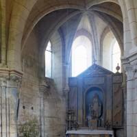 L'abside de la chapelle nord vue vers le nord-est (1997)