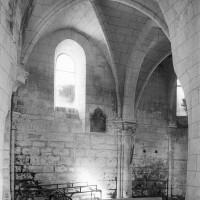 La travée droite de la chapelle nord vue vers le nord-est (1997)