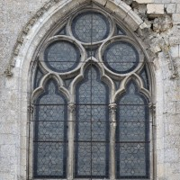 La fenêtre du mur nord du croisillon nord (2016)