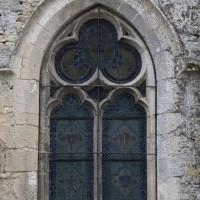 Fenêtre de la façade ouest du bas-côté sud (2016)
