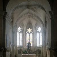 Le choeur vu vers l'est depuis la croisée du transept