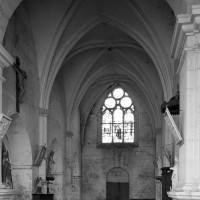 La nef vue vers l'ouest