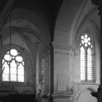 Vue partielle du transept vers le nord-est