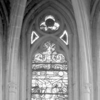 Paries supérieures d'une fenêtre de l'abside (1980)