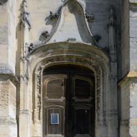 Le portail du bas-côté sud de la nef (2017)