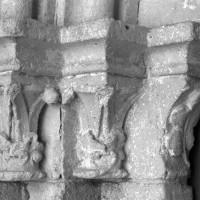 Les chapiteaux de gauche du portail ouest (1995)