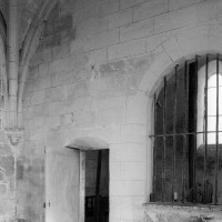 Vue partielle de la chapelle sud vers le nord-ouest (1995)