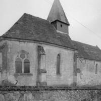 L'église vue du nord-est (1979)