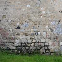 Appareil cubique à l'extrémité est du mur nord de la nef (2016)
