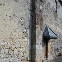 Contrefort plat au mur sud de la nef (2016)